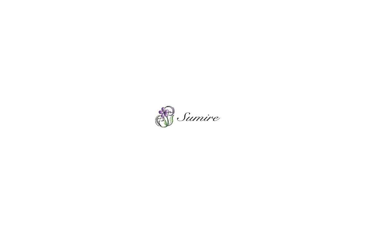 デザイン事例|菫のWeb画面1